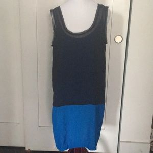 Black and blue tunic. Worn once